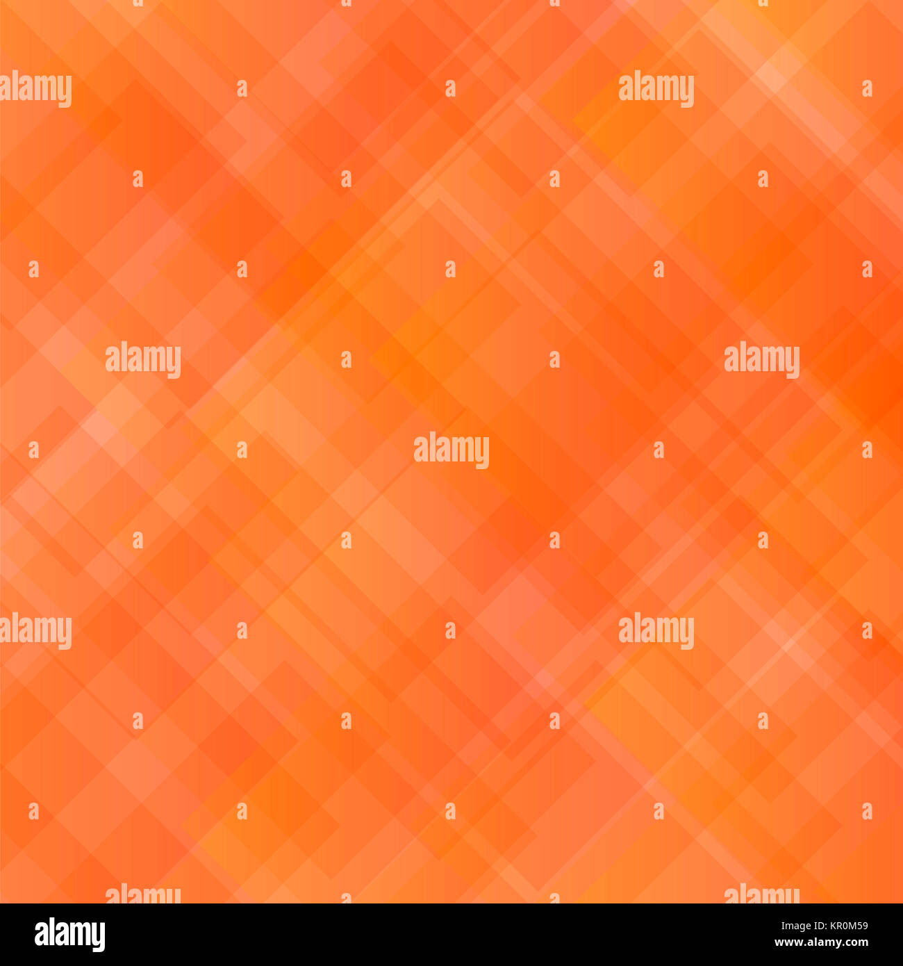 Abstract Orange Square Pattern. Stock Photo