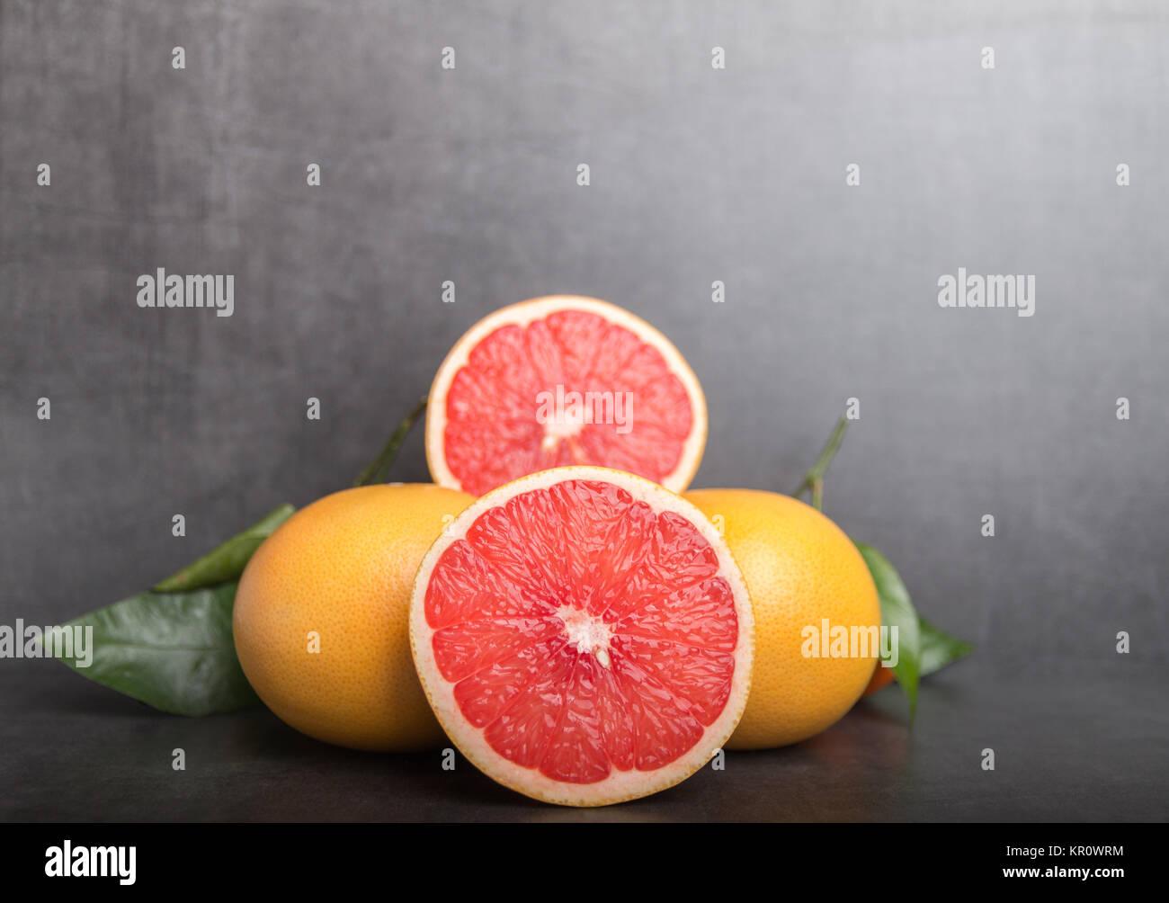 variation of grapefruit Stock Photo
