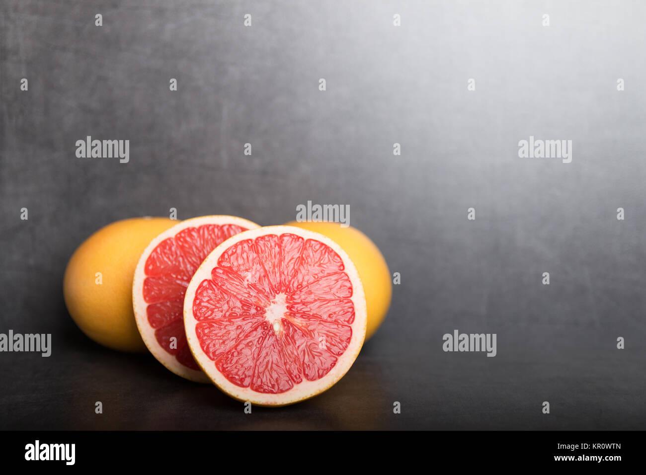 variation of grapefruit - Stock Image