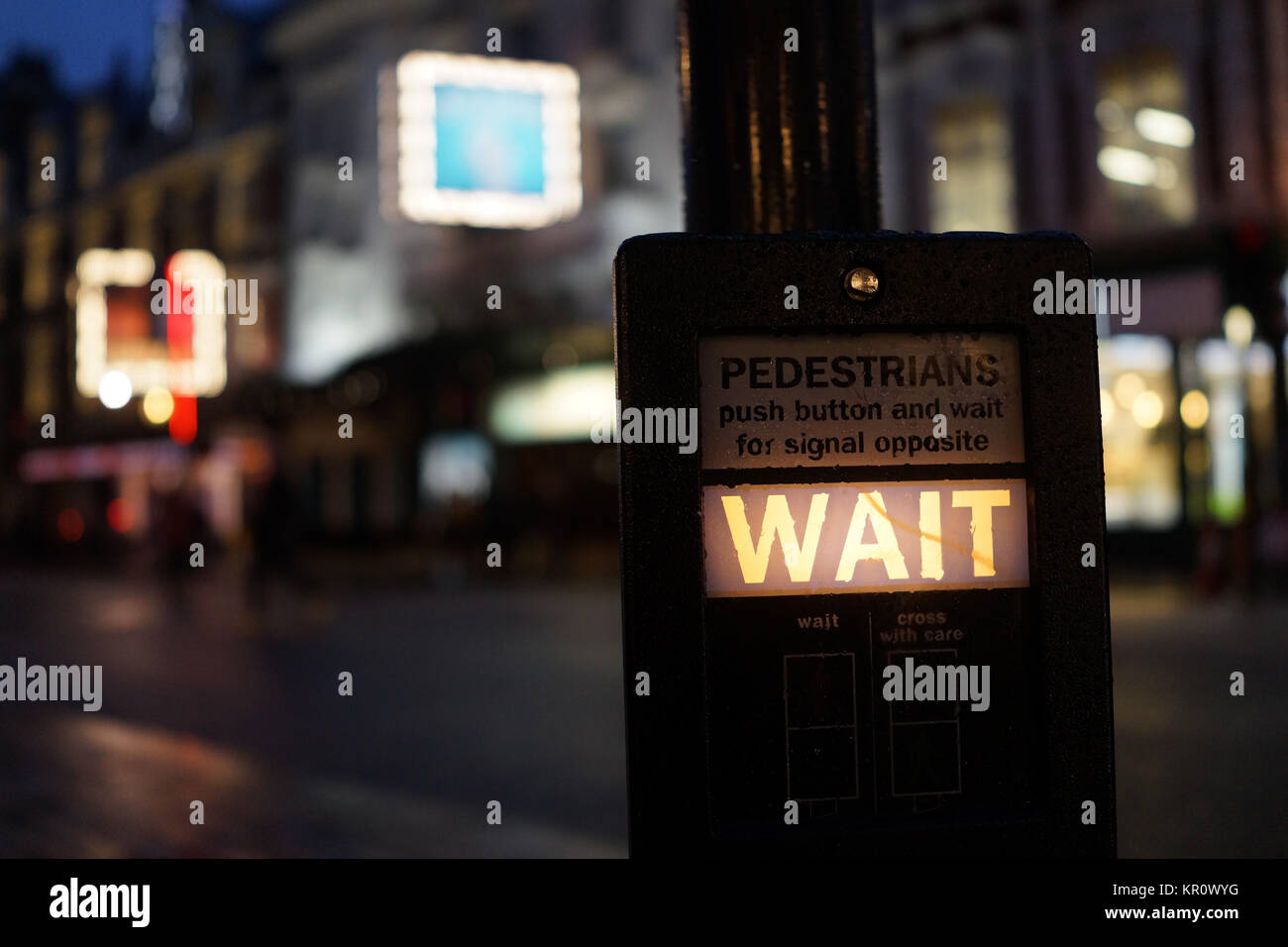 Theatreland, London (Shaftesbury Avenue) - Stock Image