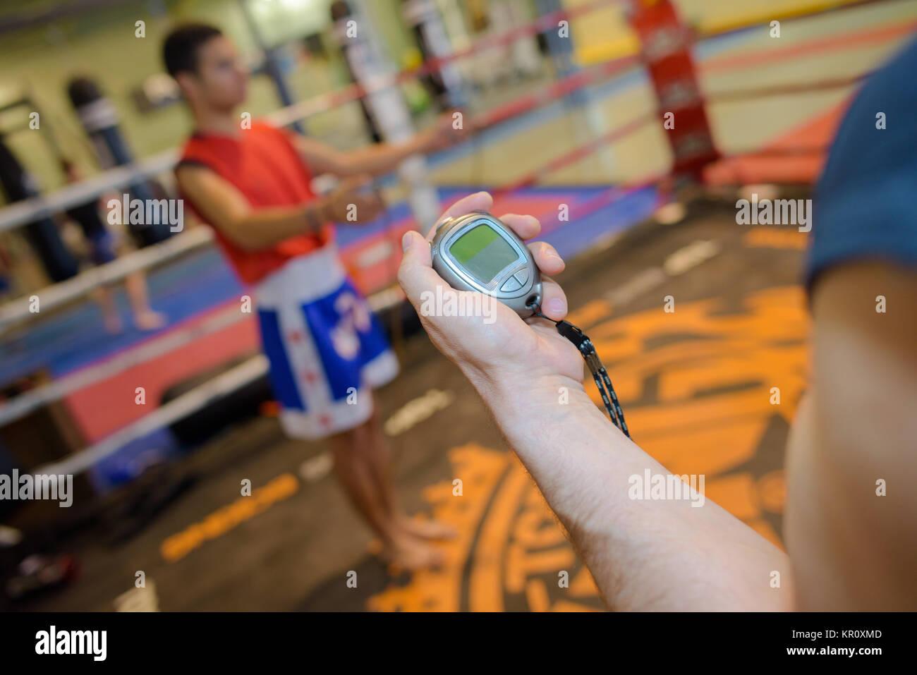 cardio exercise - Stock Image