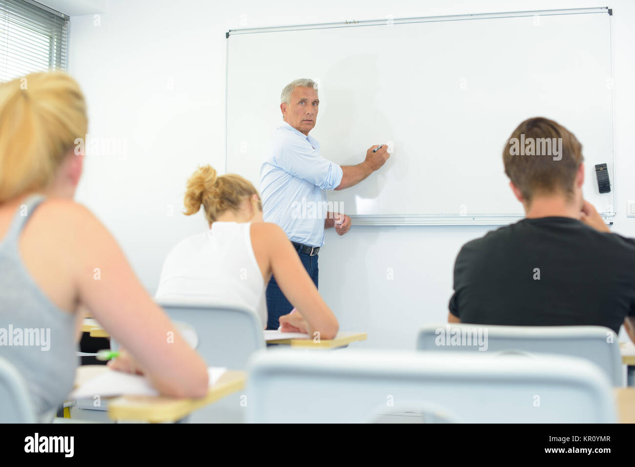 lecture time - Stock Image
