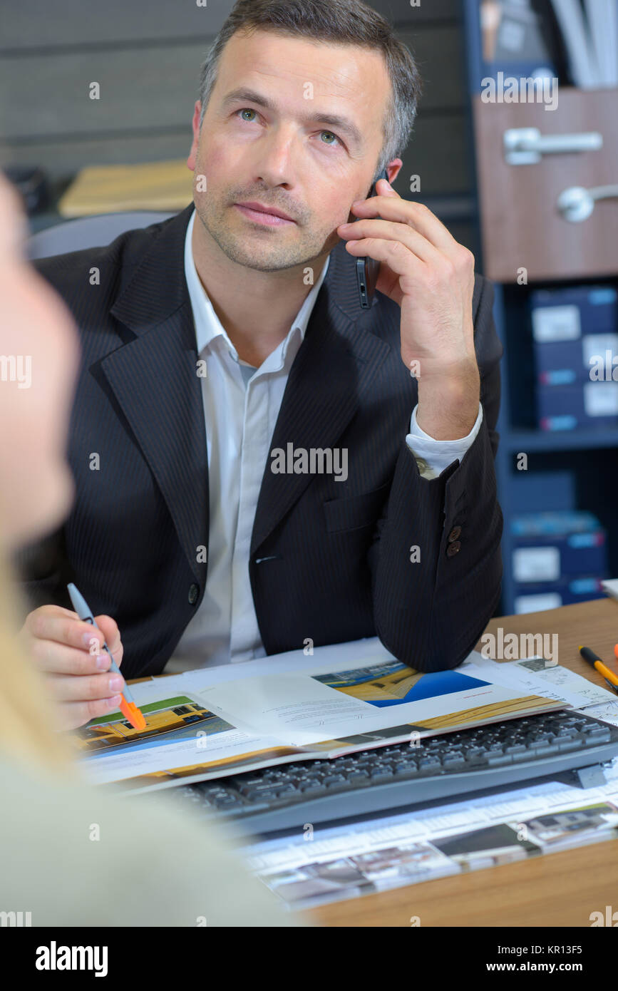 estate agent - Stock Image