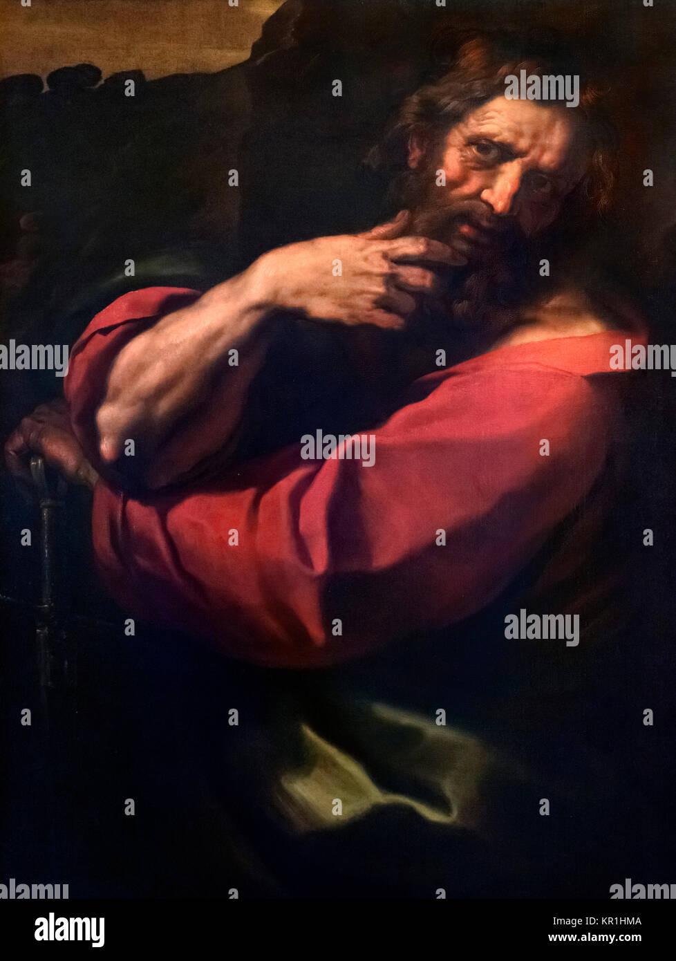 St Paul the Apostle by Giulio Cesare Procaccini (1574-1625), 1621 - Stock Image