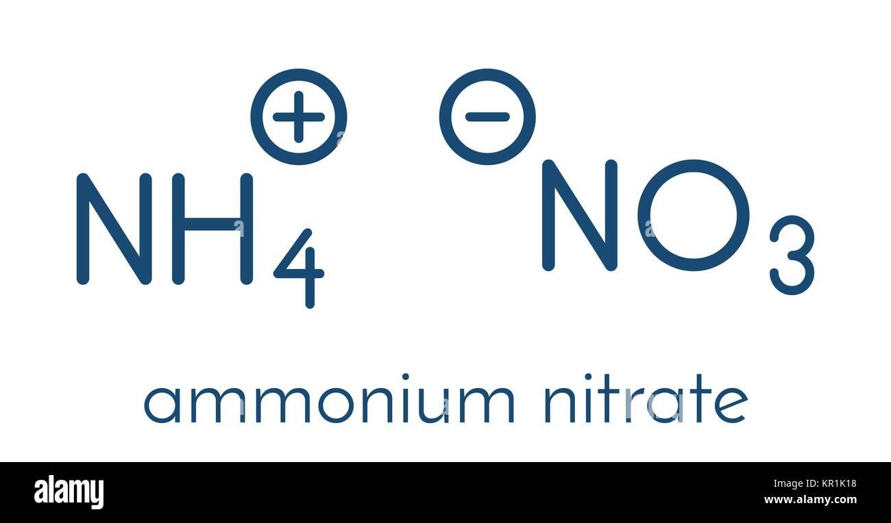 Ammonium Nitrate Molecule Stock Photos Ammonium Nitrate Molecule