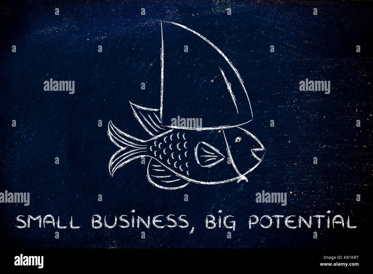 Big Fish Little Fish Business Stock Photos Big Fish Little Fish