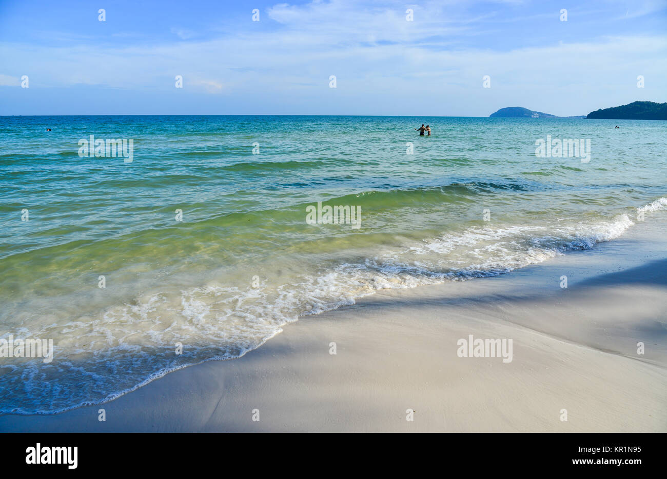 Seascape of Phu Quoc Island in Kien Giang, Vietnam. - Stock Image