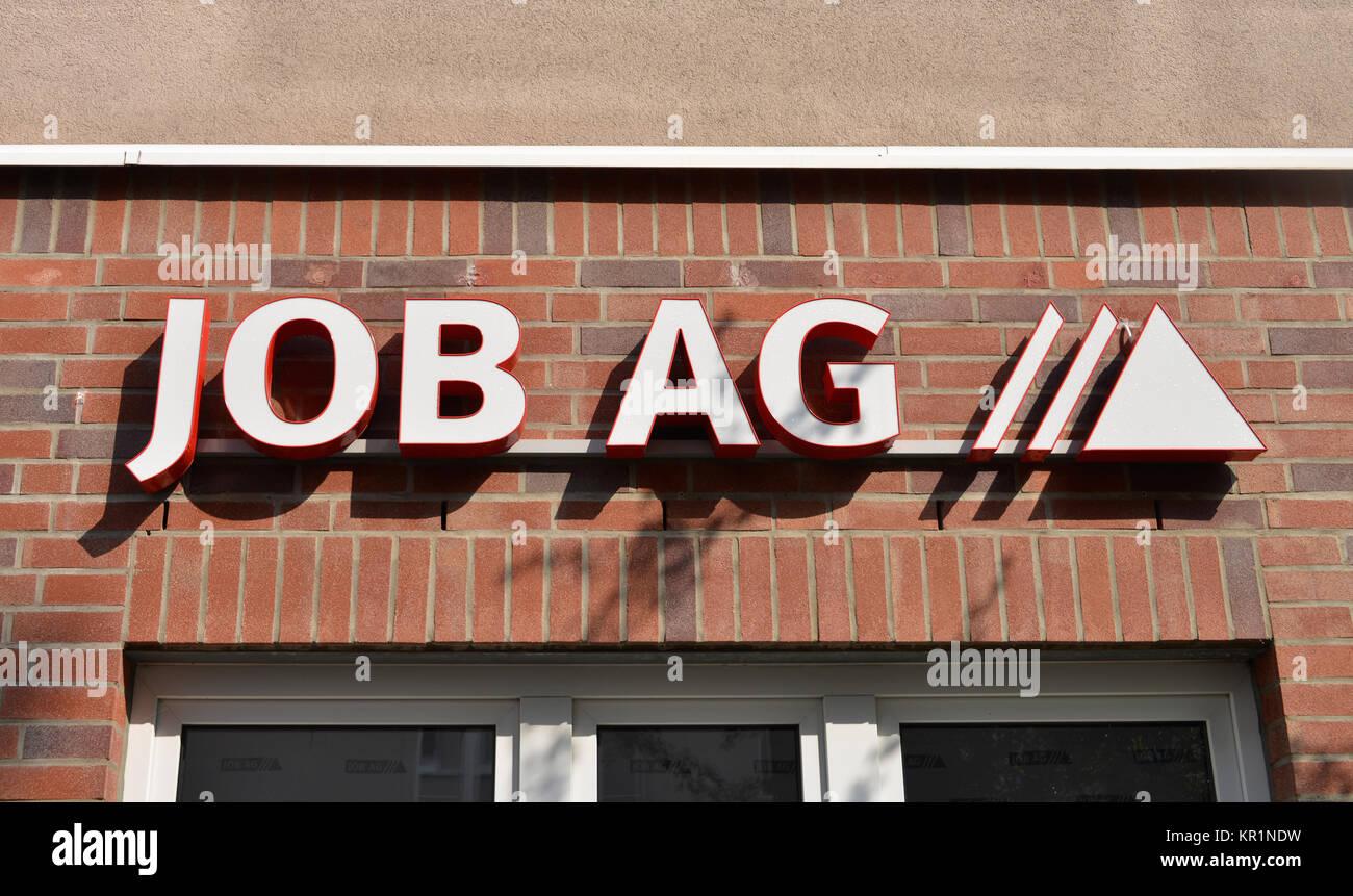Job AG, Eisenach, Thuringia, Germany, Thueringen, Deutschland - Stock Image