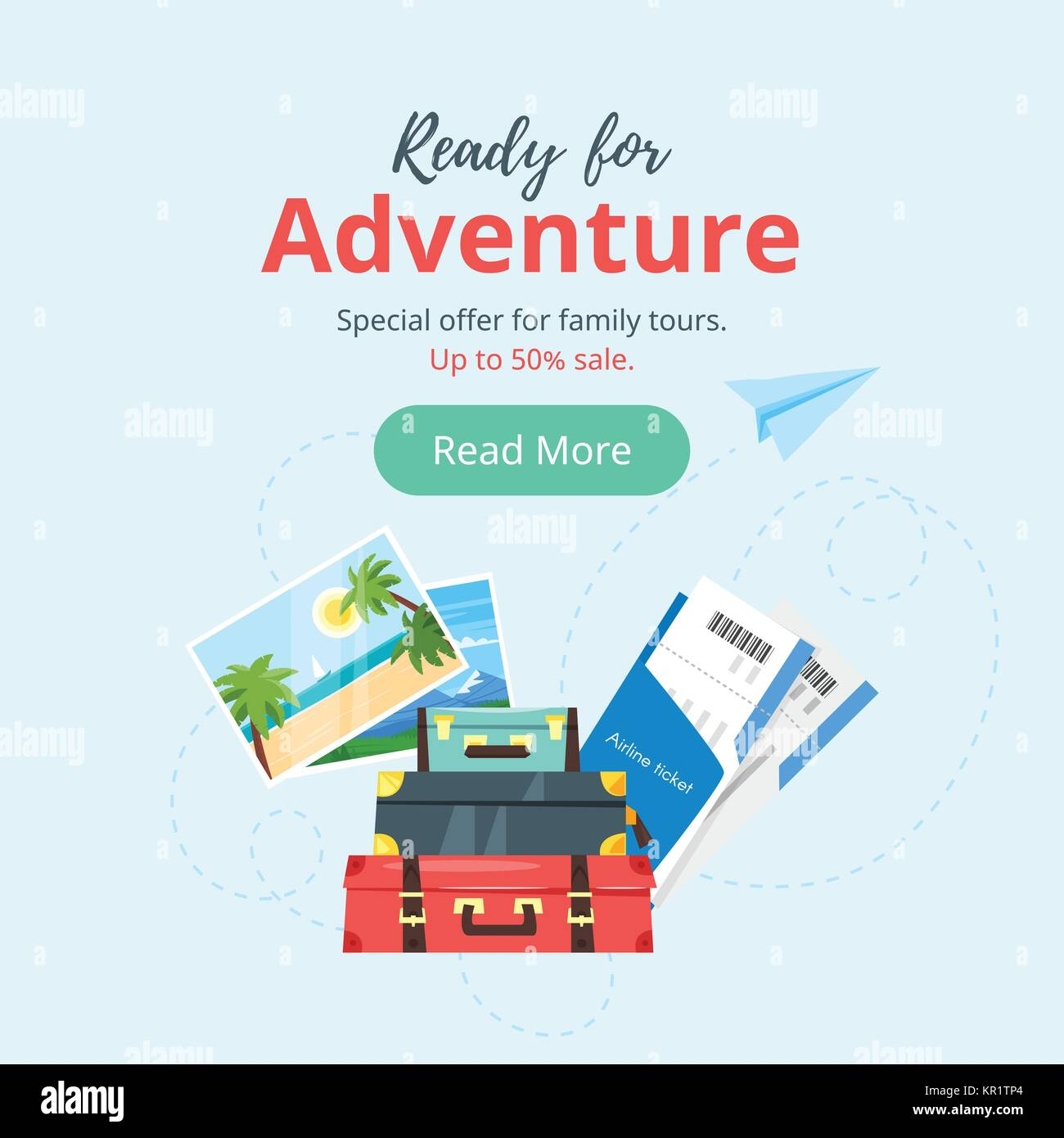 Travel And Tourism Advertisement Banner