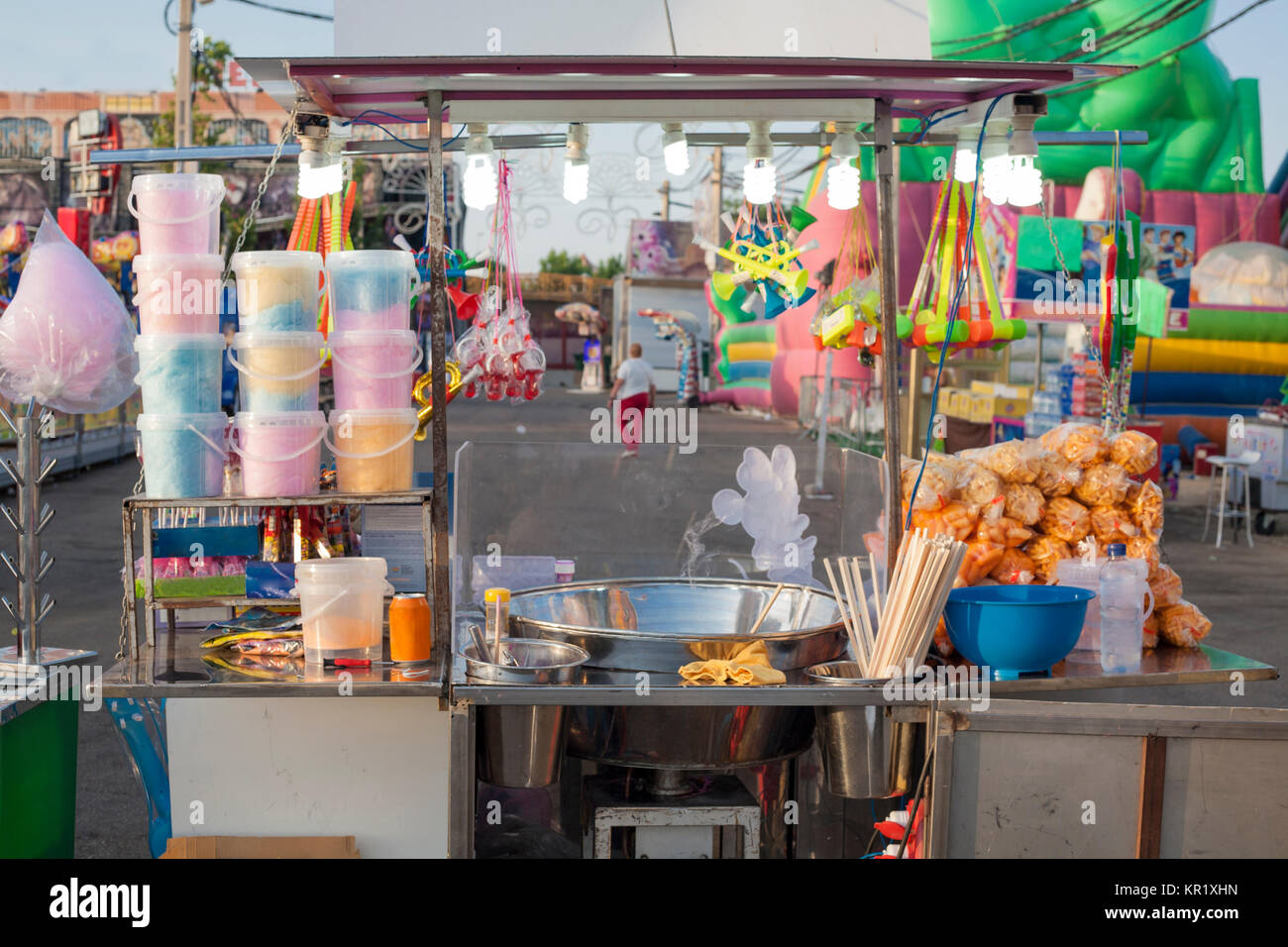 Cotton Candy Stall Stock Photos Amp Cotton Candy Stall Stock