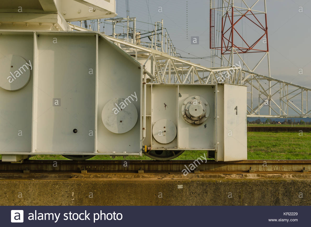 seemed a broadcast system Stock Photo