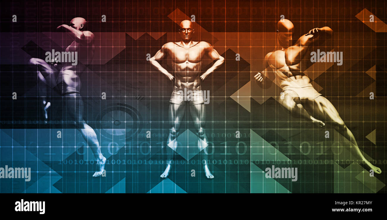 Body Combat - Stock Image
