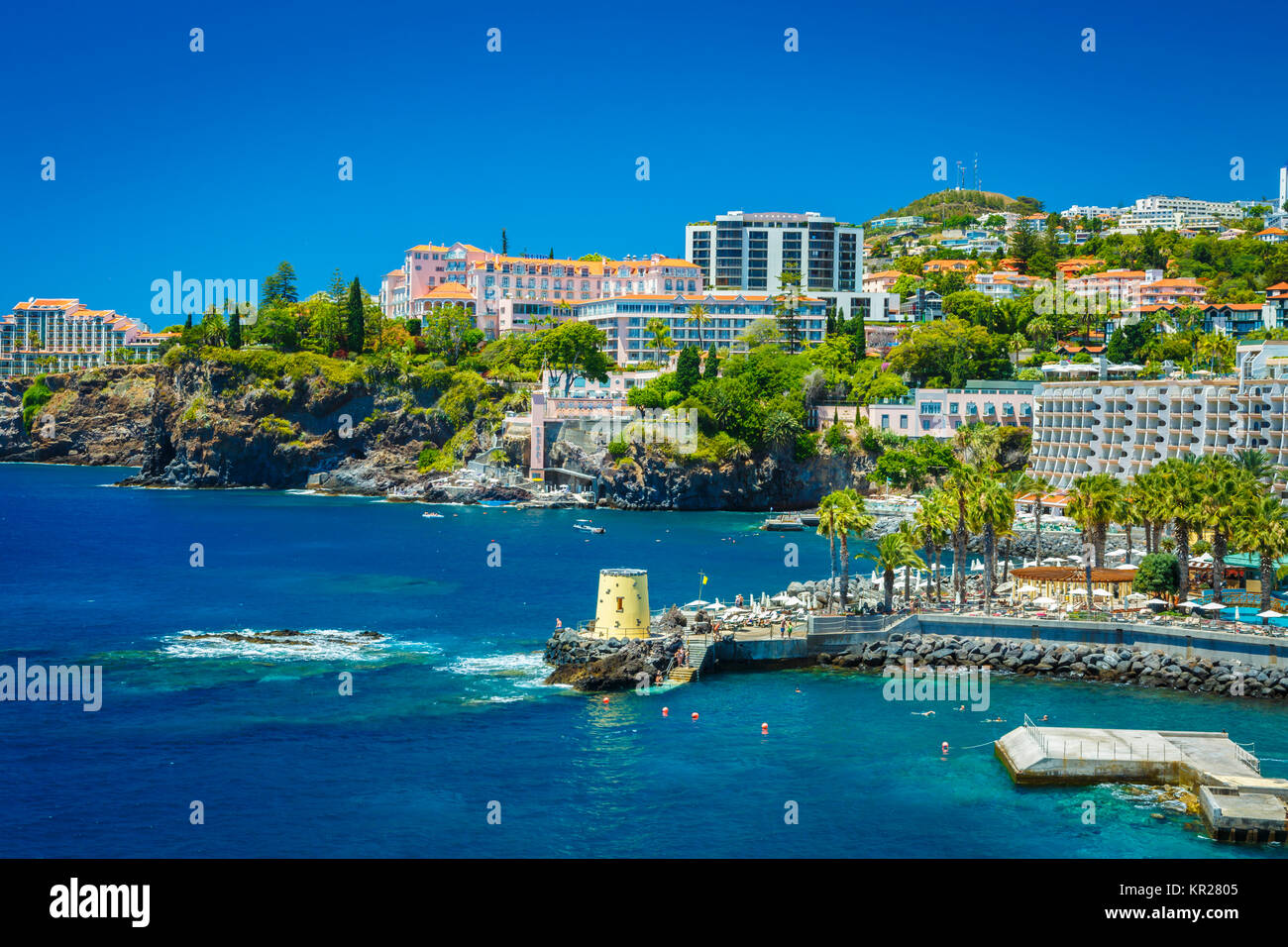 City view. Funchal. Madeira, Portugal, Europe. - Stock Image