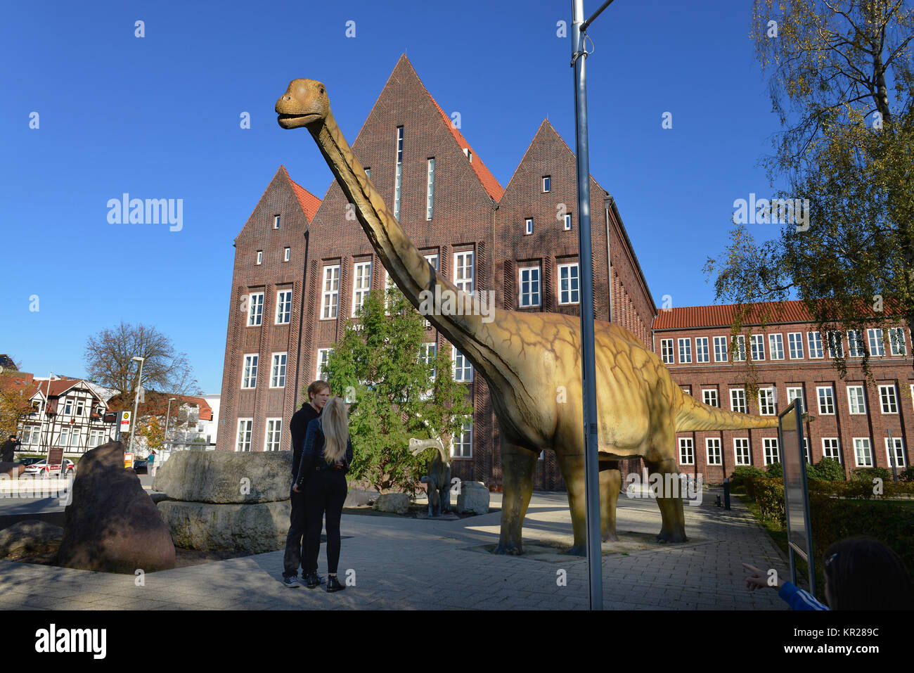 Natural-historical museum, Pockelstrasse, Brunswick, Lower Saxony, Germany, Naturhistorisches Museum, Braunschweig, - Stock Image
