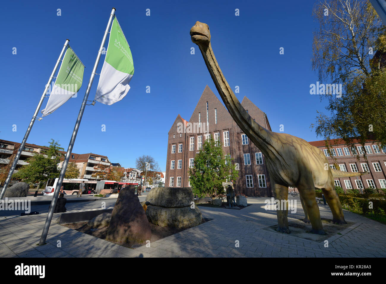 Natural-historical museum, Pockelstrasse, Brunswick, Lower Saxony, Germany, Naturhistorisches Museum, Braunschweig, - Stock Image