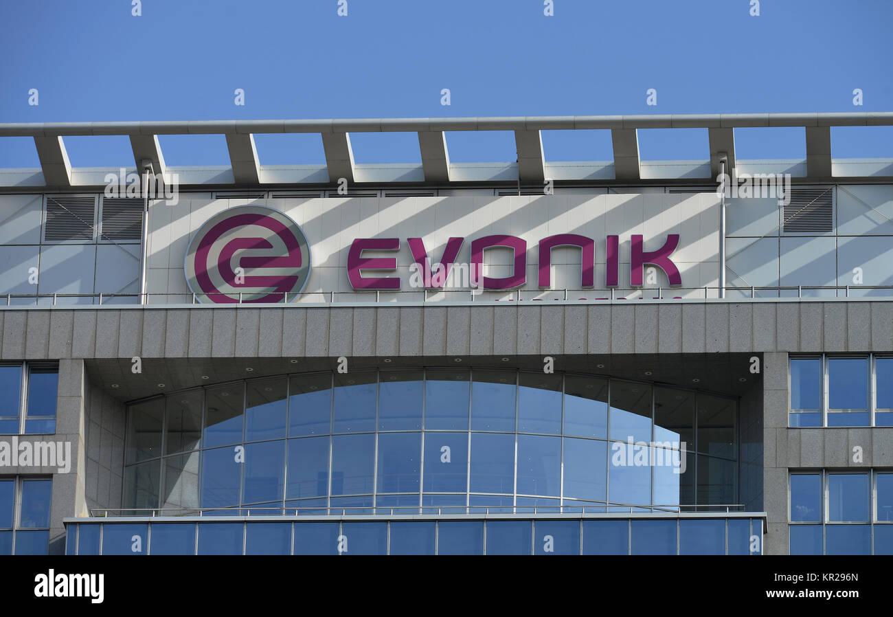 Evonik company headquarters, Rellinghauser street, food, North Rhine-Westphalia, Germany, Evonik Firmensitz, Rellinghauser Stock Photo