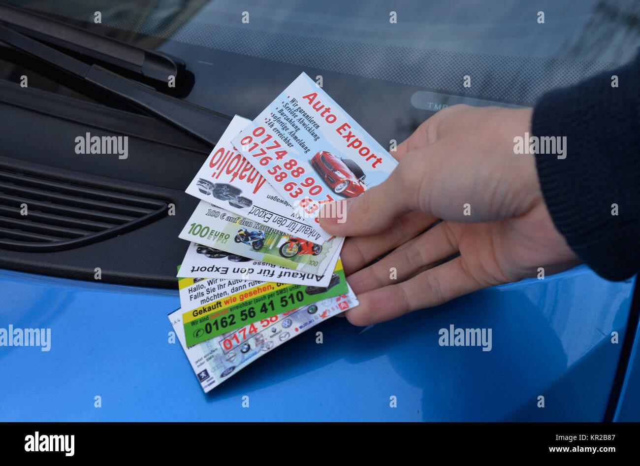 Maps, autosales, Karten, Autoverkauf - Stock Image