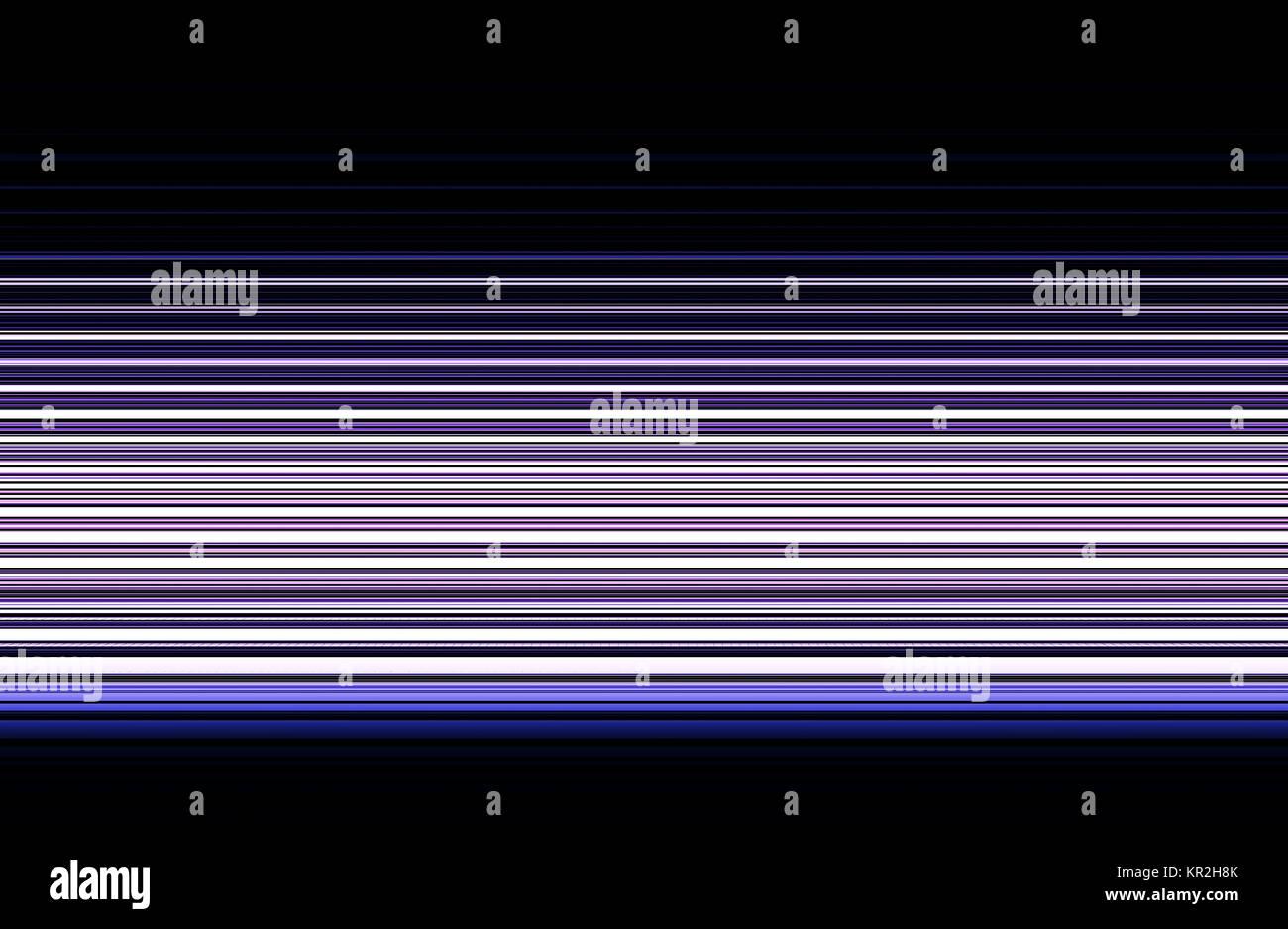 Horizontal purle tv lines illustration background Stock