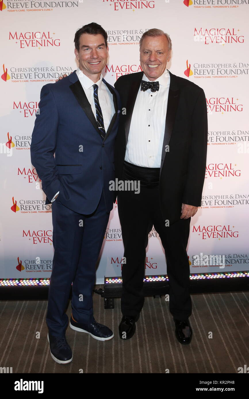 The Christopher & Dana Reeve Foundation Gala at the Conrad - Arrivals  Featuring: Jerry O'Connell, Peter - Stock Image