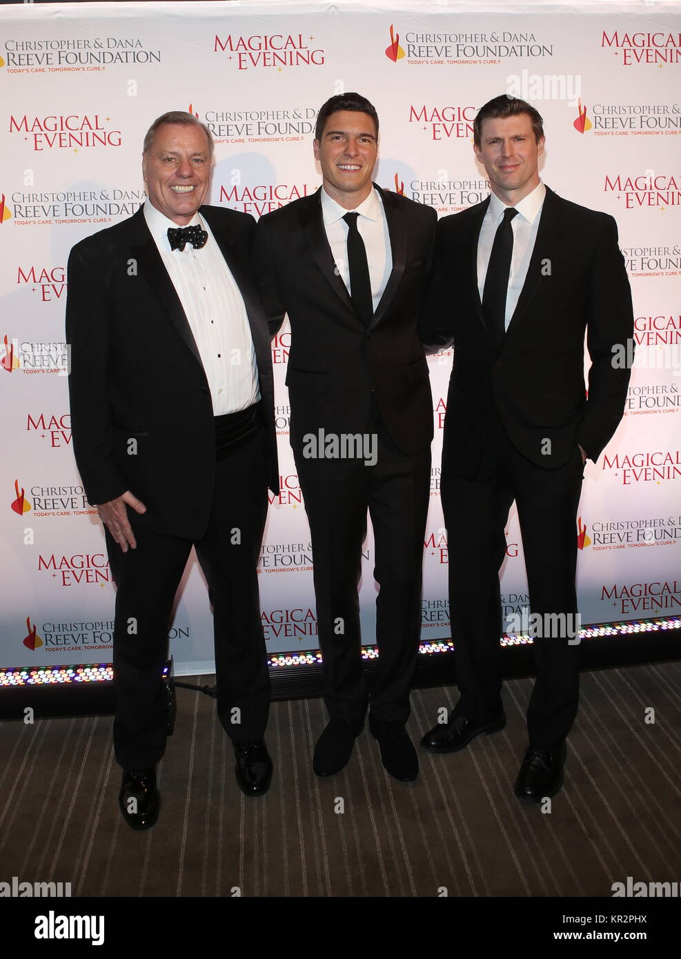 The Christopher & Dana Reeve Foundation Gala at the Conrad - Arrivals  Featuring: Peter Wilderotter, Will Reeve, - Stock Image