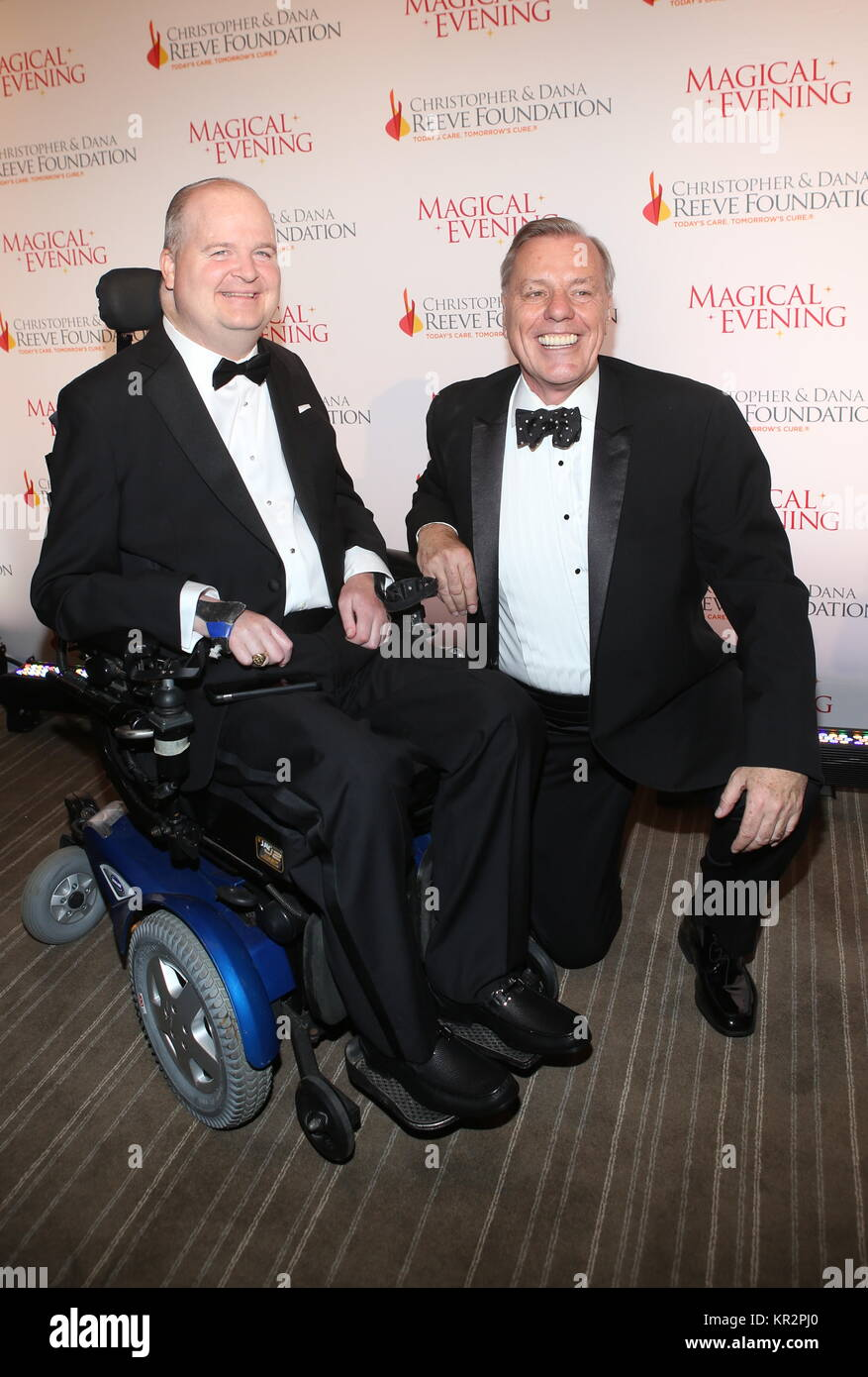 The Christopher & Dana Reeve Foundation Gala at the Conrad - Arrivals  Featuring: Henry G. Stifel III, Peter - Stock Image