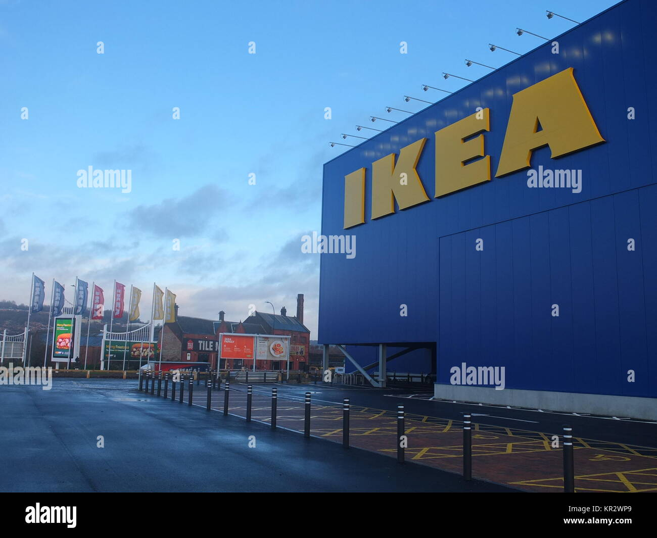 Exterior of new Ikea store in Sheffield, opened in 2017 - Stock Image