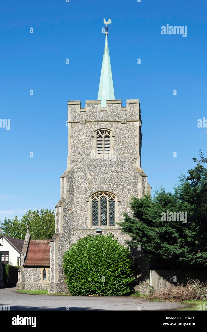 Roman Catholic Church of Saint Richard of Chichester, Station Road, Buntingford, Hertfordshire, England, United - Stock Image
