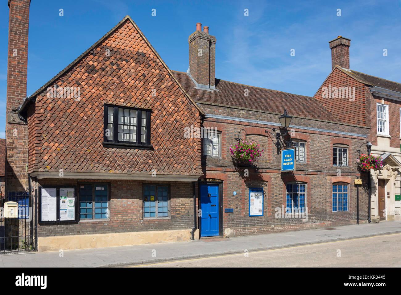 Eden Valley Museum, High Street, Edenbridge, Kent, England, United Kingdom - Stock Image