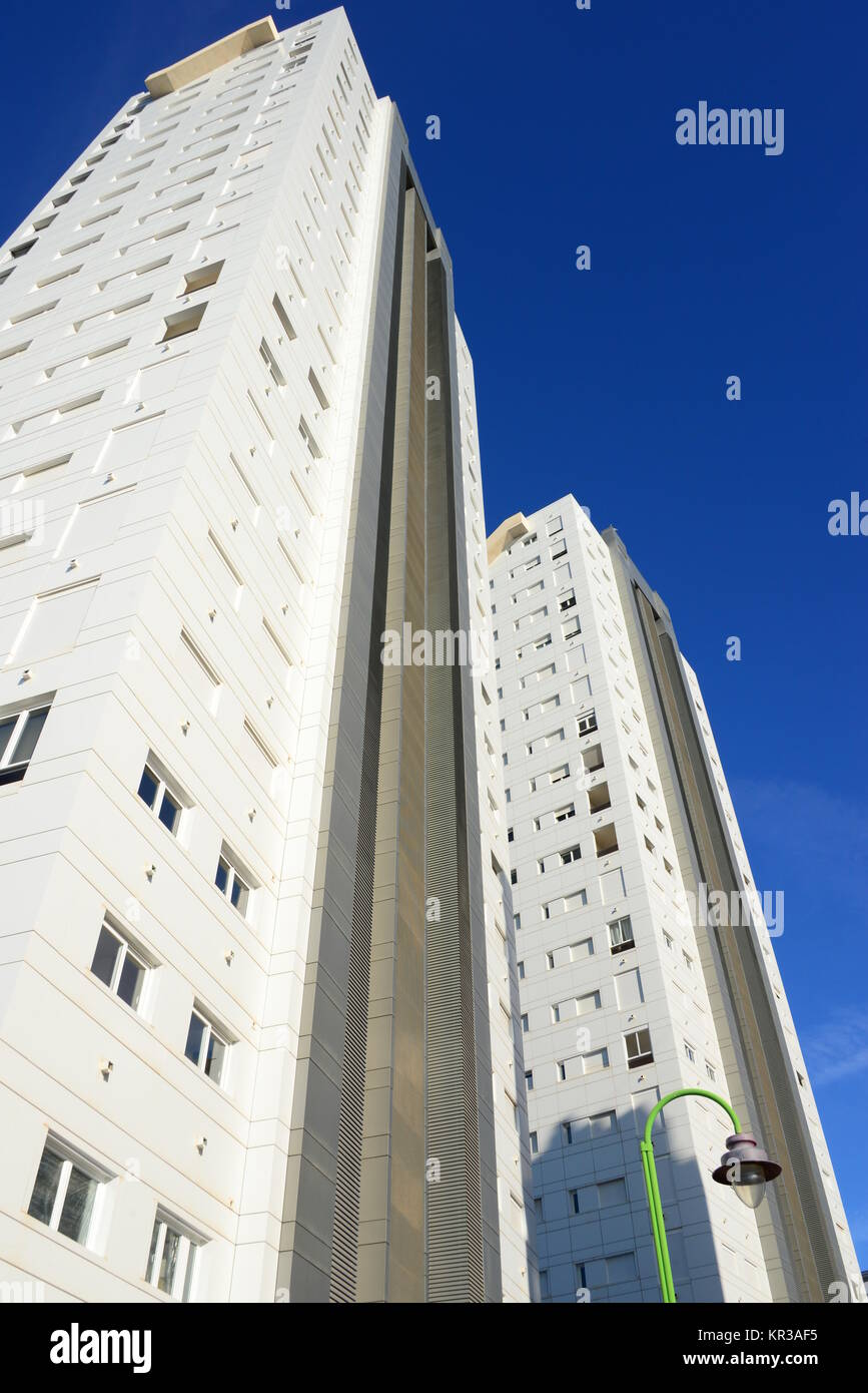 city views of benidorm - spain Stock Photo