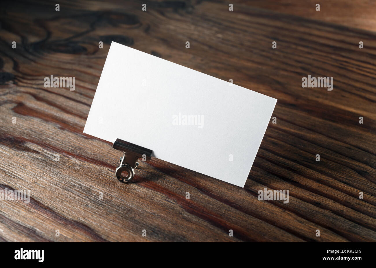 Blank business card Stock Photo: 169106093 - Alamy