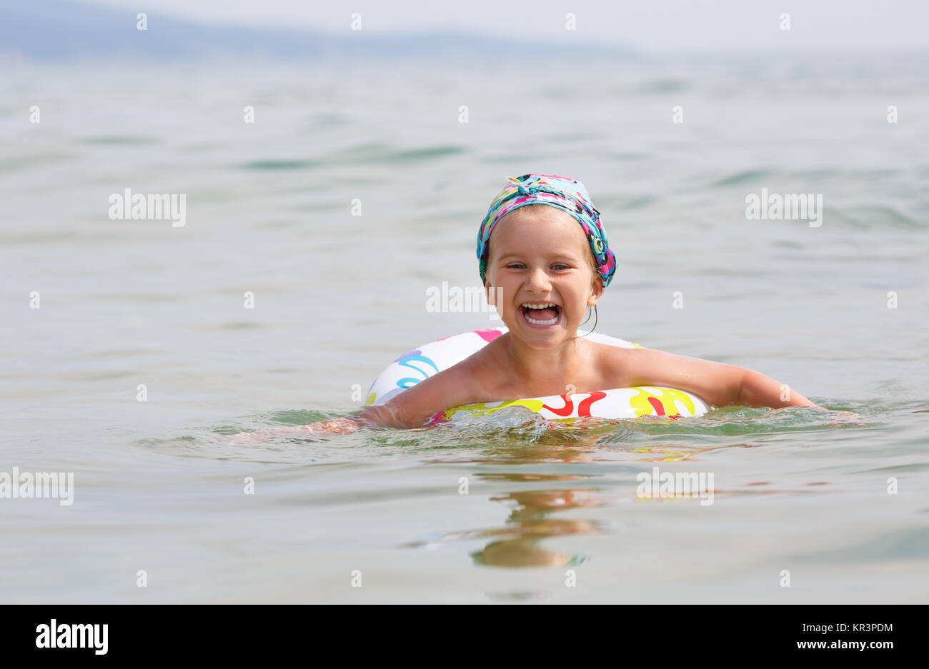 Child and sea - Stock Image