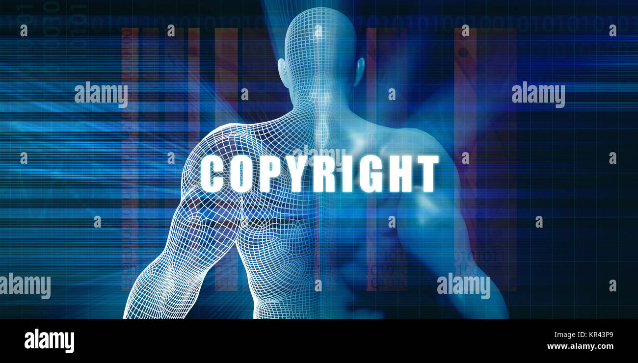 Copyright - Stock Image