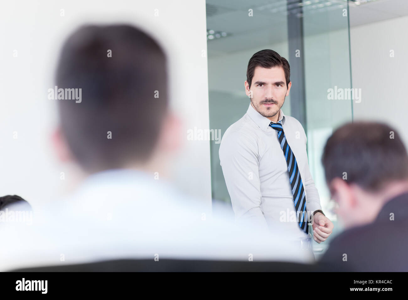 Business team office meeting. - Stock Image