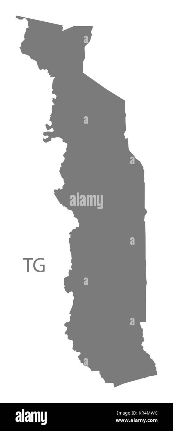 Togo Map Stock Photos & Togo Map Stock Images - Alamy