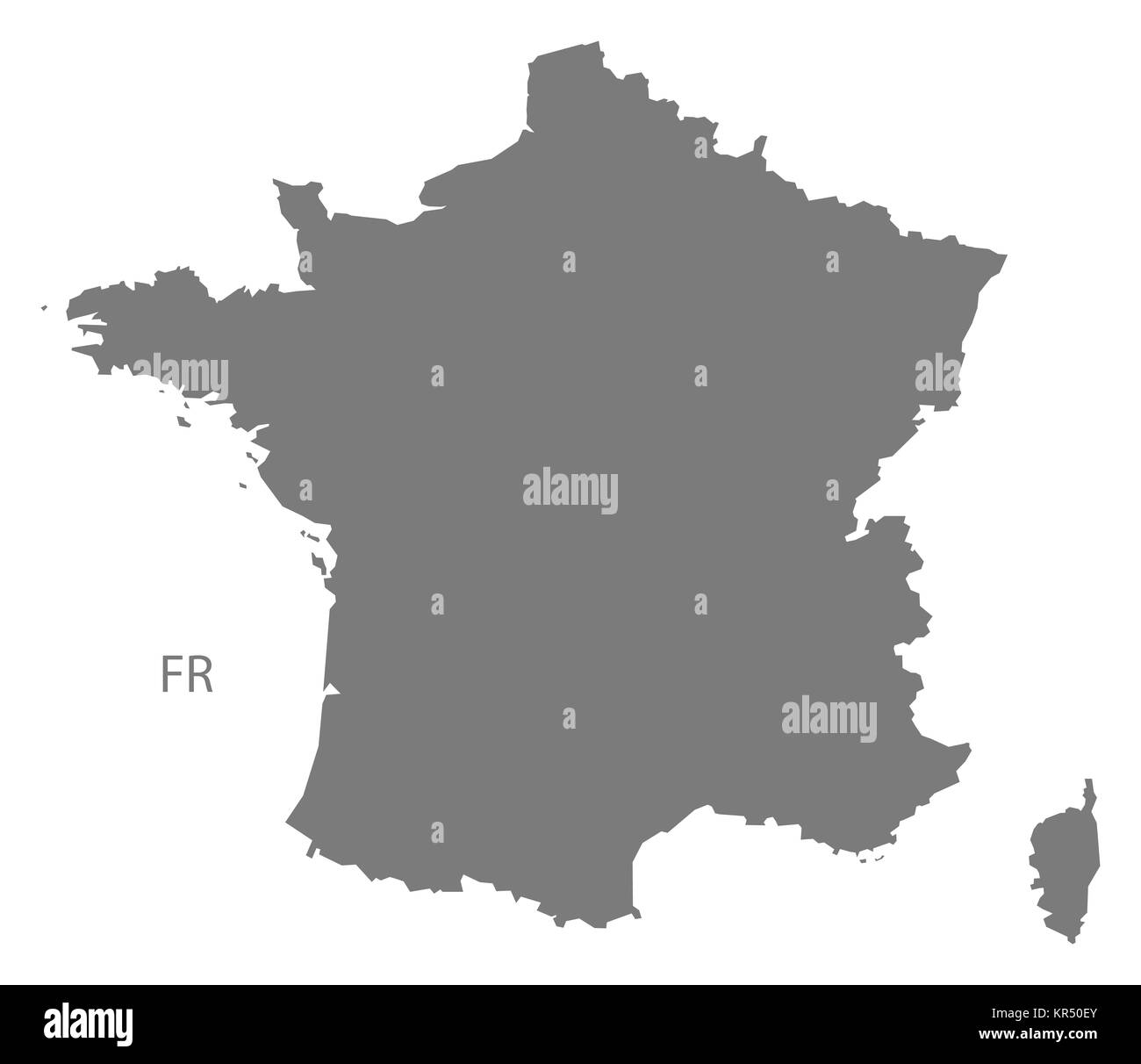 France Map Black And White Stock Photos Images Alamy