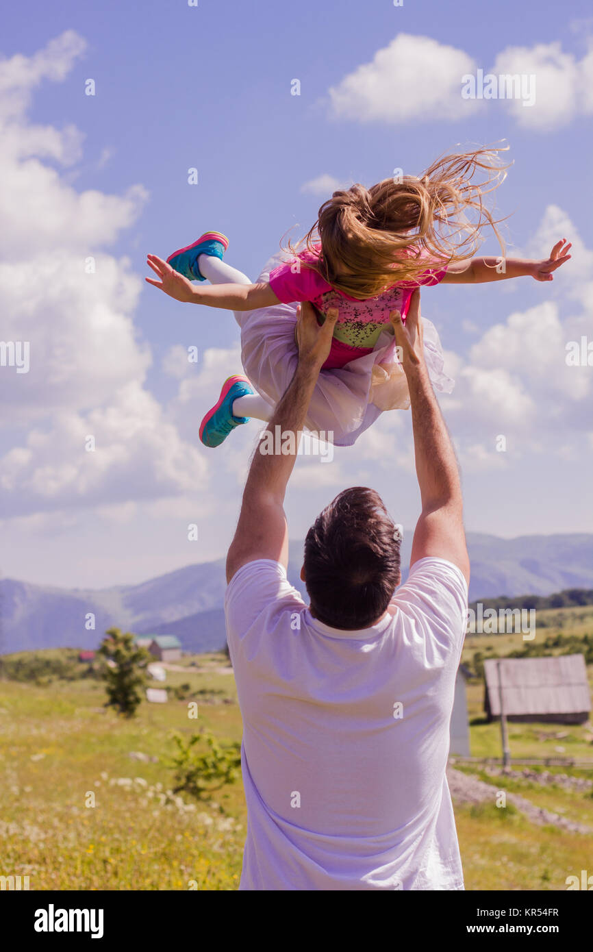 Family Lifestyle Outdoor - Stock Image