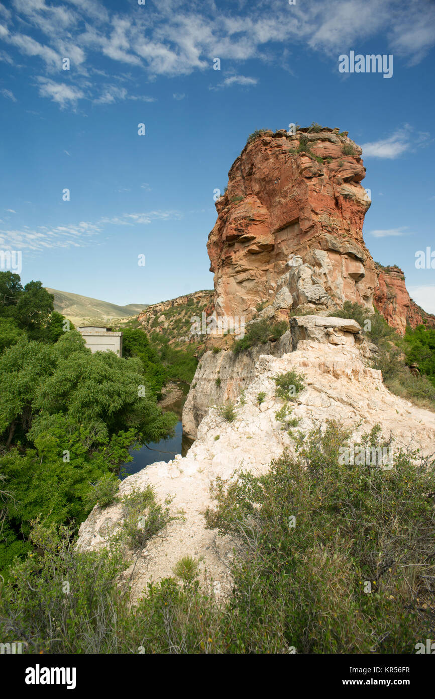 Ayres Natural Bridge Park Wyoming