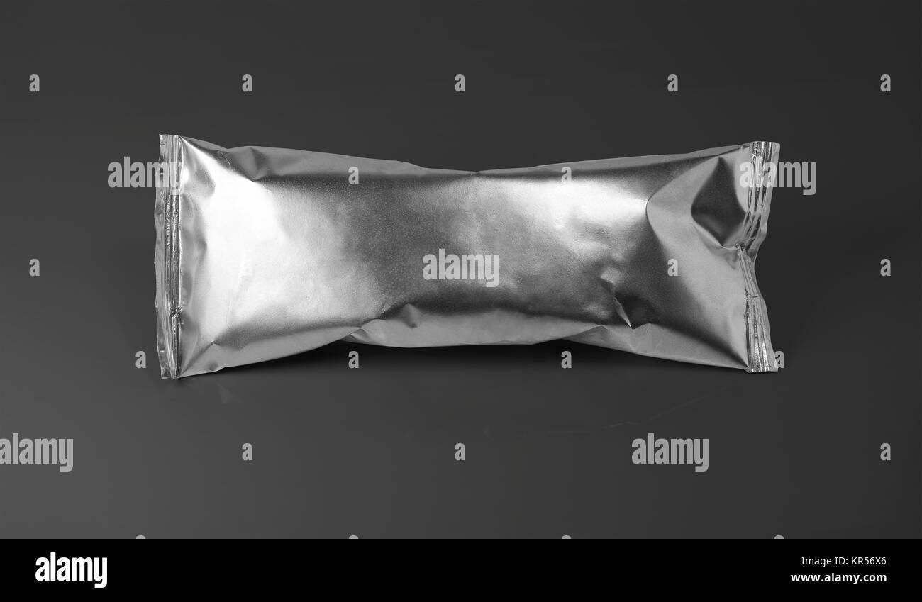 clean packing aluminium - Stock Image