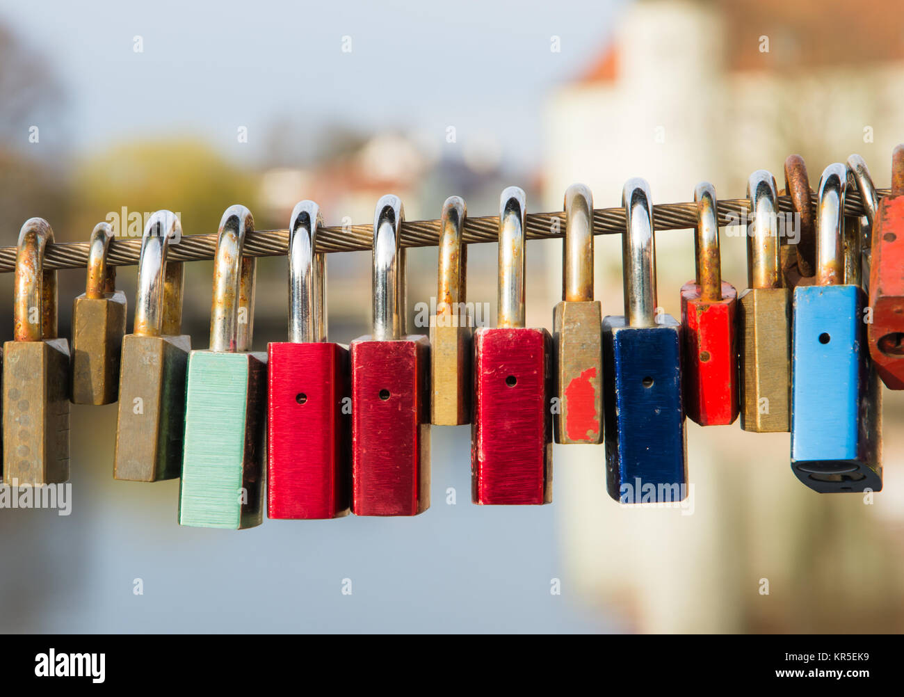 Locks As Symbol For Everlasting Love Stock Photo 169151677 Alamy