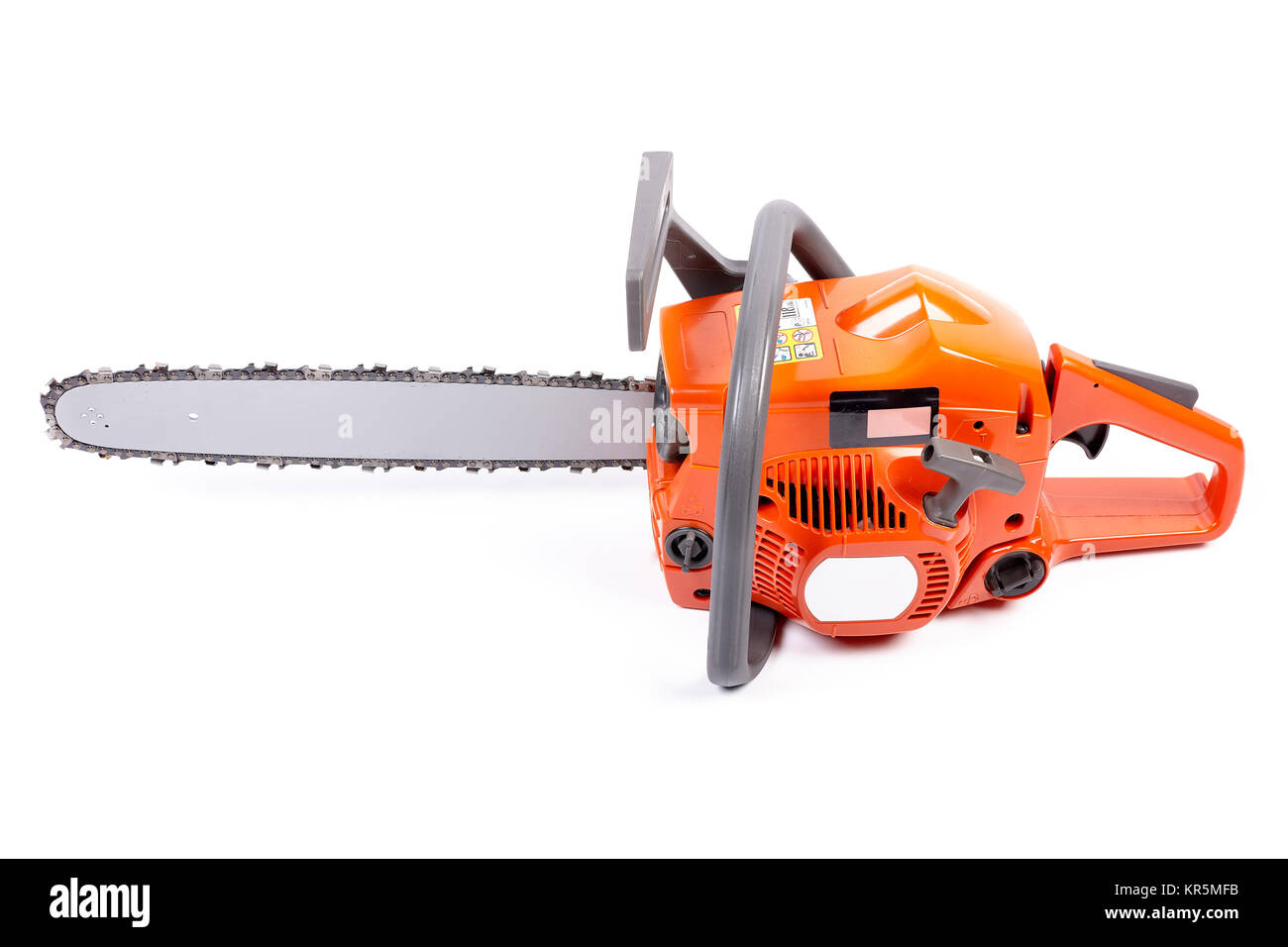 Chain saw. Stock Photo