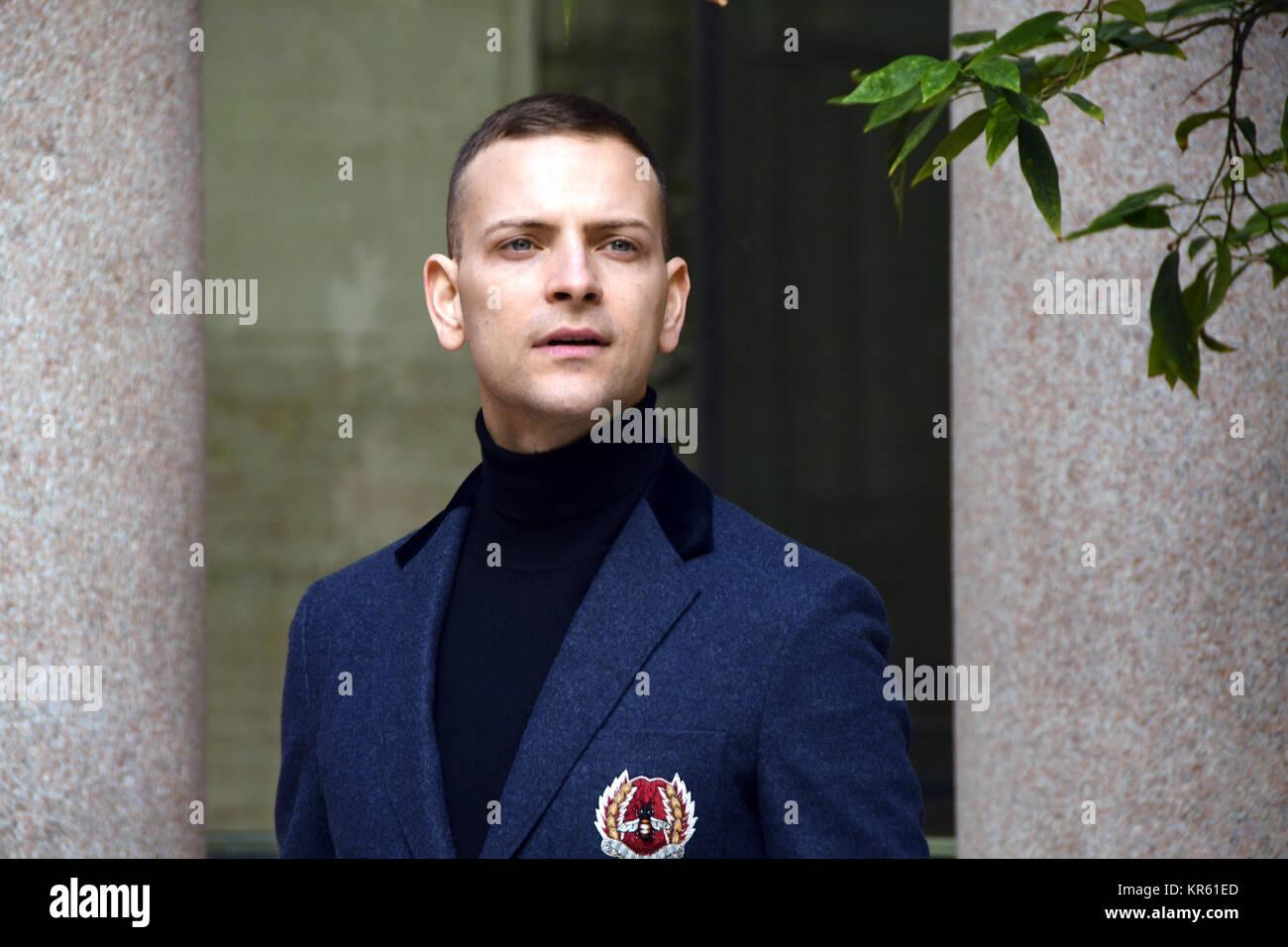 Rome Italy 18 December 2017 Photocall Presentation Film Napoli Stock Photo Alamy
