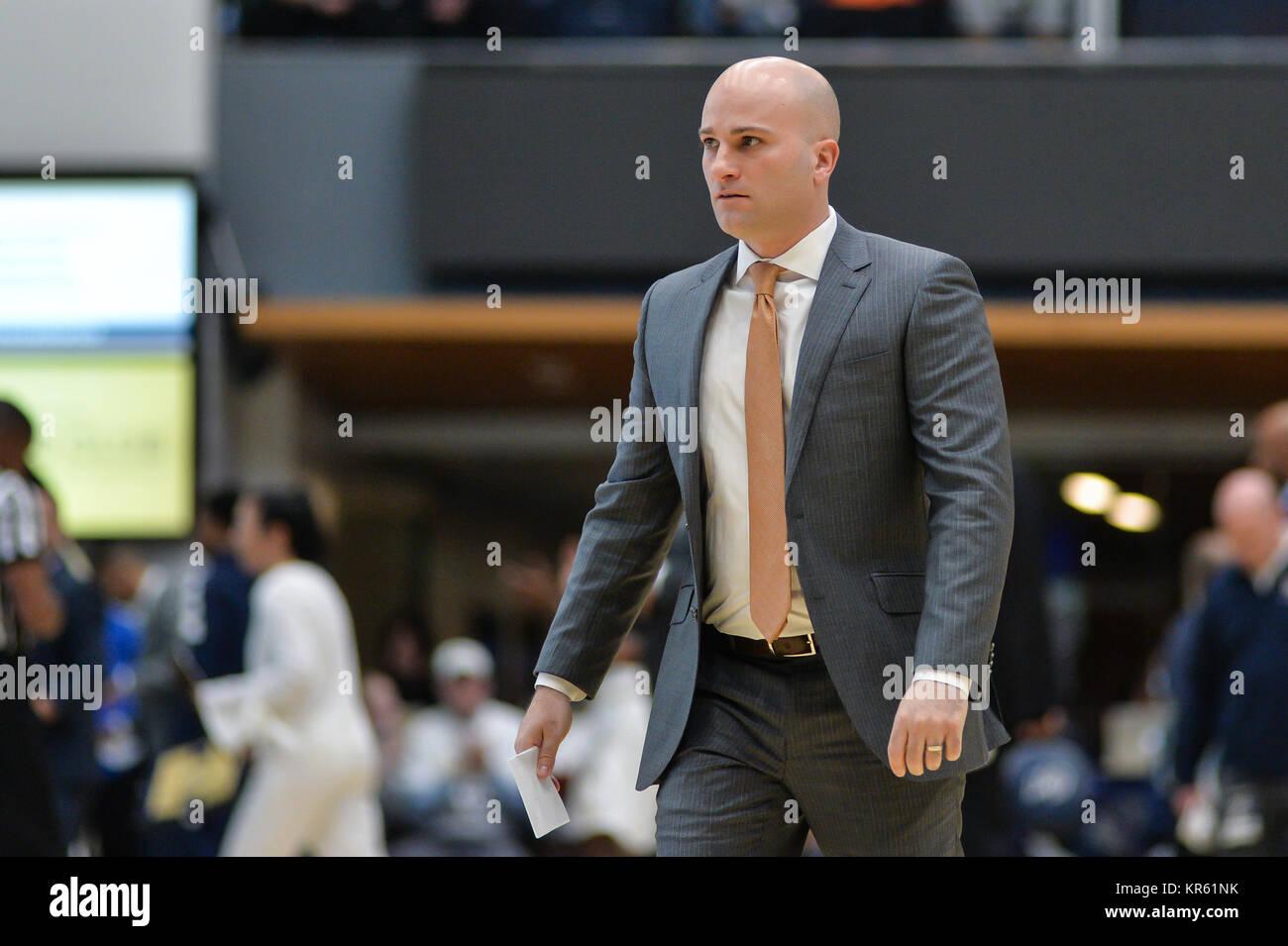 Washington, DC, USA. 16th Dec, 2017. Associate Head Coach Chris ...