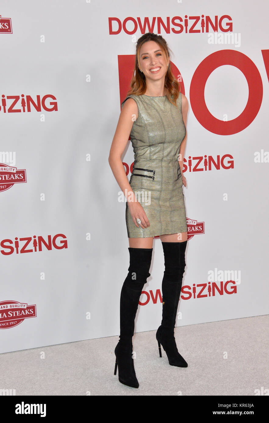 Los Angeles, USA. 18th Dec, 2017. LOS ANGELES, CA. December 18, 2017: Melissa Bolona at the special screening of Stock Photo