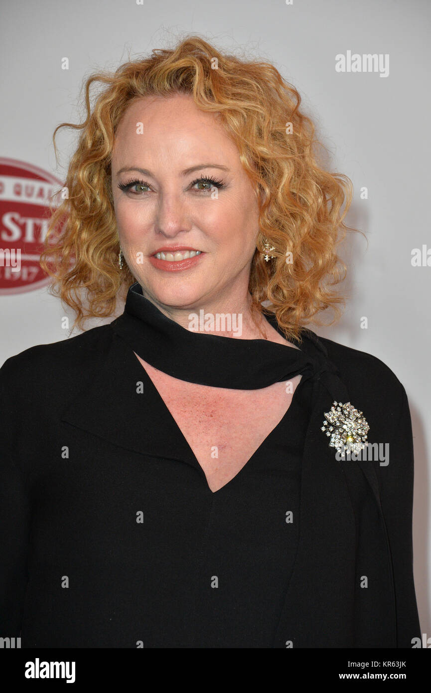 Los Angeles, USA. 18th Dec, 2017. LOS ANGELES, CA. December 18, 2017: Virginia Madsen at the special screening of - Stock Image