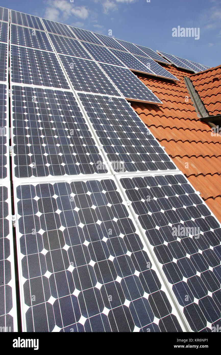solar power - Stock Image