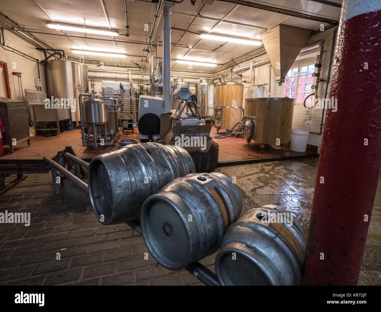 Hook Norton Brewery, England, UK. - Stock Image