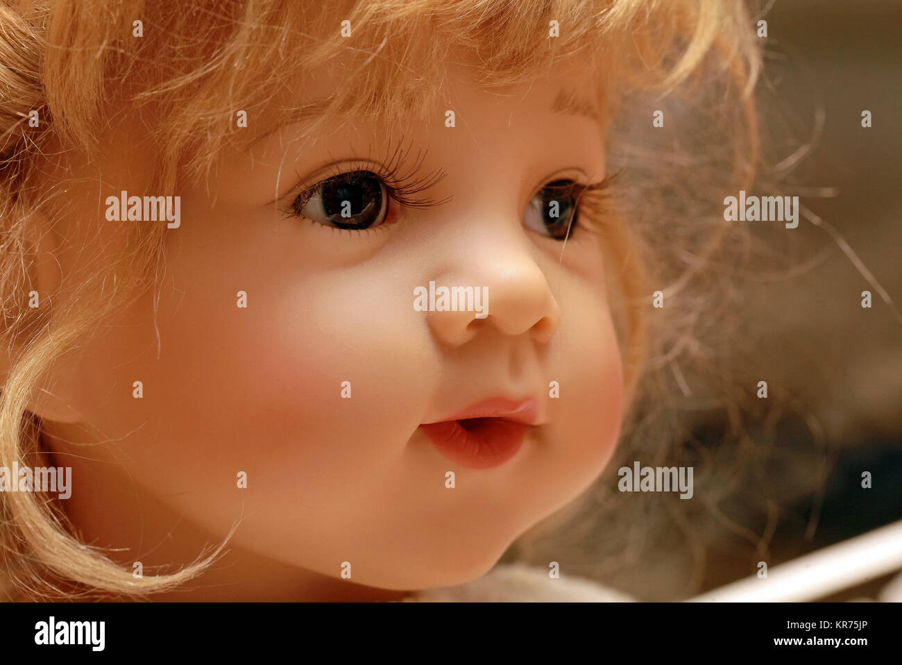 Baby Doll Face Stock Photos Baby Doll Face Stock Images Alamy