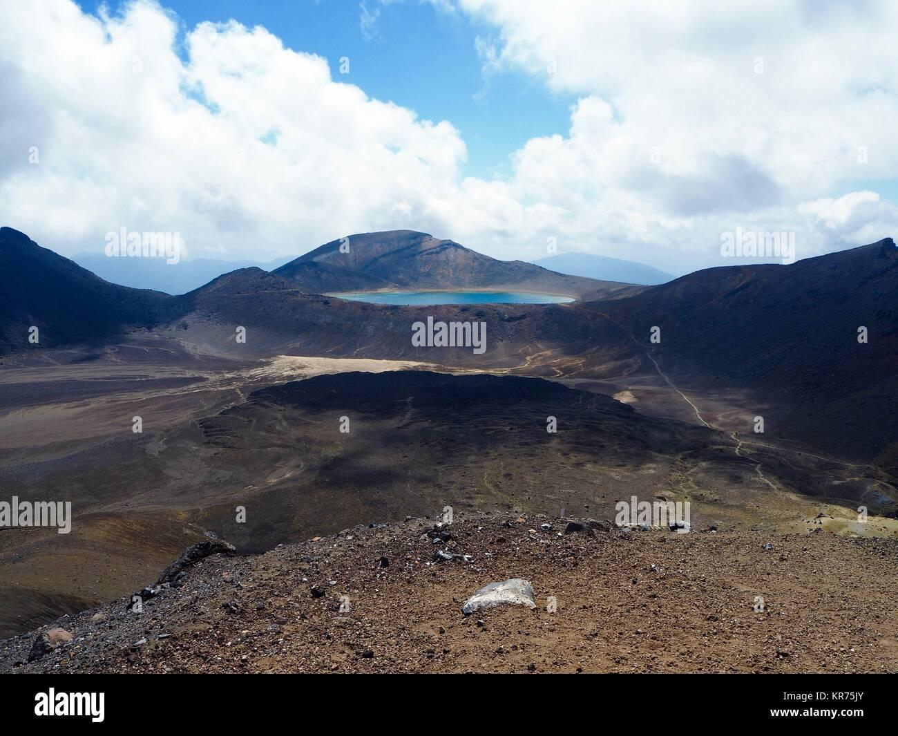 volcanic landscape - Stock Image
