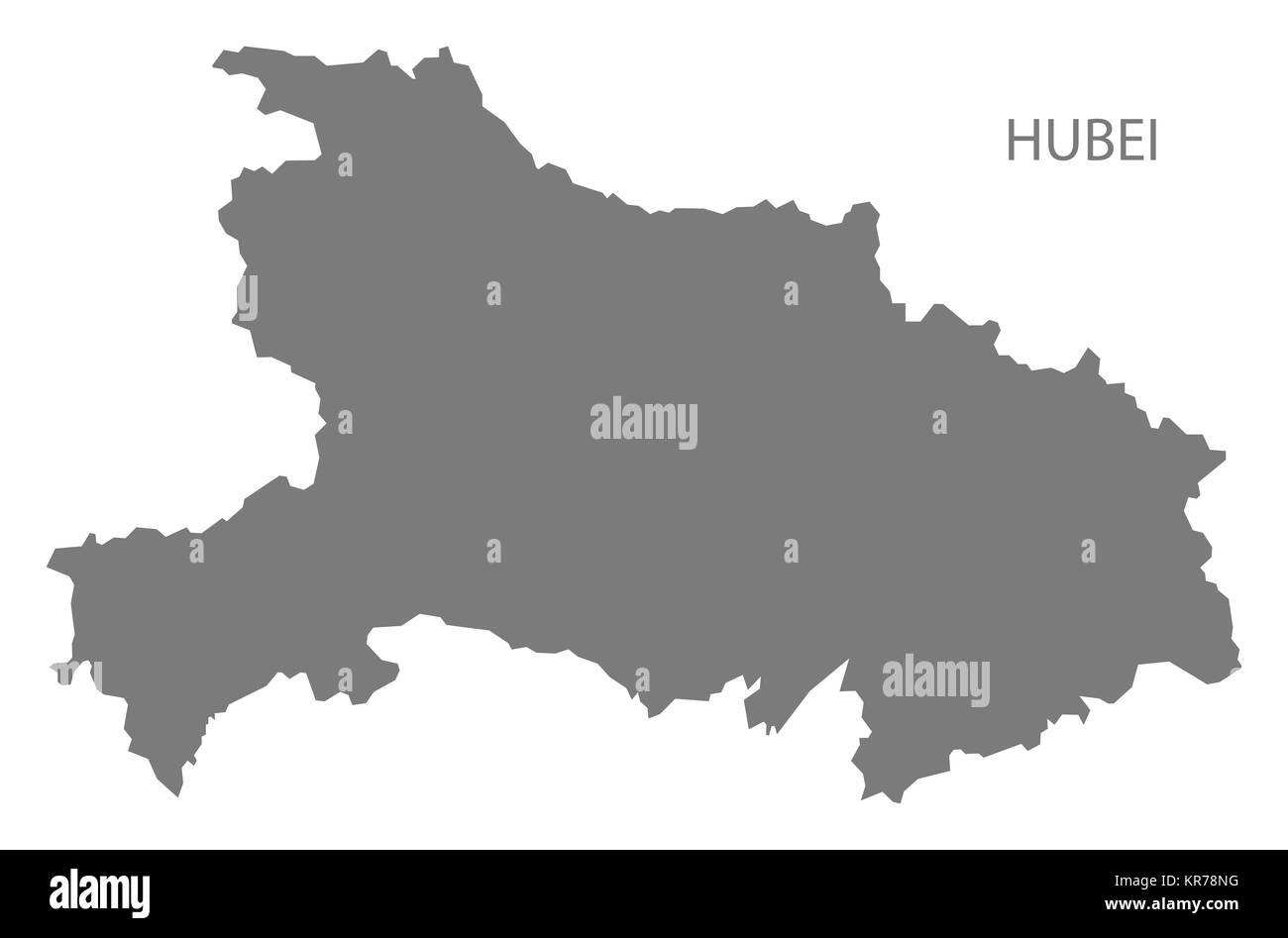 Hubei Map Vector Stock Photos Hubei Map Vector Stock Images Alamy