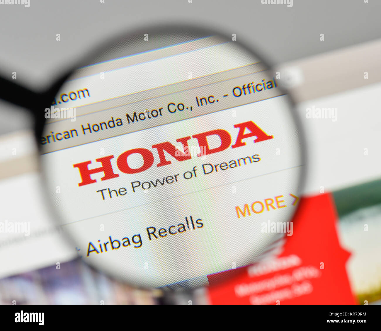 Honda Logo Stock Photos Images